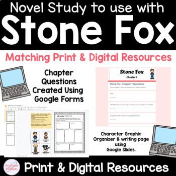 Stone Fox Novel Study Unit