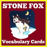 Stone Fox   Novel Study   1st 2nd 3rd 4th 5th Grade   Voca