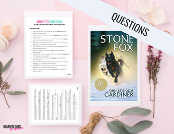 Stone Fox -50 Literal Questions {Battle of the Books}