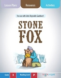 Stone Fox Lesson Plans (Book Club Format - Asking and Answering Questions)