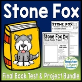 Stone Fox Bundle: Test and Book Report Project {25% Off}