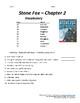 Stone Fox - Chapter 2 Vocabulary / Test