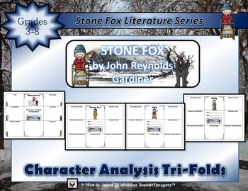 Stone Fox Character & Literary Element Analysis Tri-Folds
