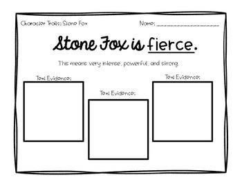 Stone Fox Character Traits
