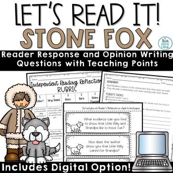 Stone Fox Reader Response and Debate