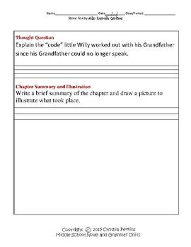 Stone Fox Complete Literature and Grammar Unit