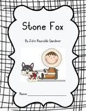 Stone Fox Comprehension Packet