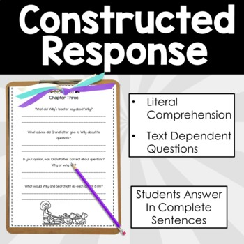 Stone Fox  Novel Study - Comprehension and Writing Activities