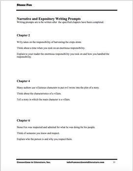 Stone Fox-Reading Literature Guide