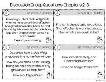 Stone Fox Discussion Group Questions