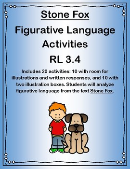 Stone Fox Figurative Language