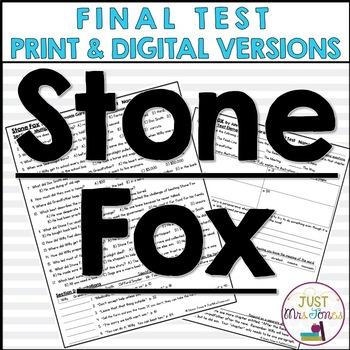 Stone Fox Final Test