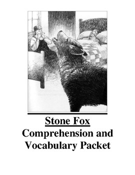 Stone Fox Guided Reading Unit Level P