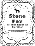 Stone Fox - Independent Reading Journal
