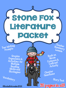 Stone Fox Literature Packet