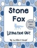 Stone Fox ~ Literature Unit