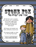 Stone Fox *NO PREP* Novel Study Unit Test Kit
