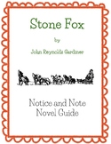Stone Fox - Notice and Note Signpost Novel Guide
