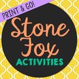 Stone Fox Novel Unit Study Activities, Book Companion Work