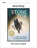 Stone Fox Novel Study
