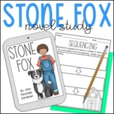 Stone Fox Novel Study - Distance Learning