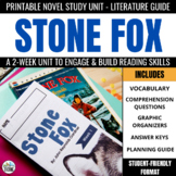 Stone Fox Foldable Novel Study Unit