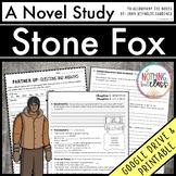 Stone Fox Novel Study Unit Distance Learning