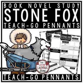 Stone Fox Activity • Teach- Go Pennants™ [Book Review Template]
