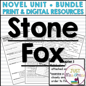 Stone Fox Novel Unit