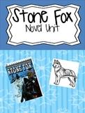 Stone Fox Novel Unit and Activities