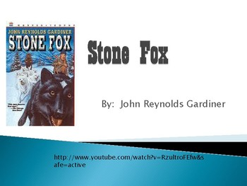 Stone Fox PPT: Vocabulary, Predictions, Inferencing, Comprehension, & Opinion