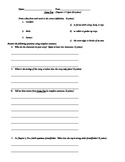 Stone Fox Quiz - Chapters 1-3