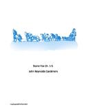 Stone Fox Quiz Chapters 1-5