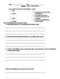 Stone Fox Quiz Chapters 4-6