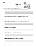 Stone Fox Reading Packet