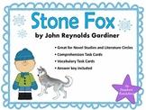 Stone Fox by John Gardiner Comprehension and Vocabulary Ta
