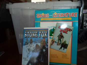 Stone Fox   Skills Through Literature  ISBN043904473-1 (set of 2)