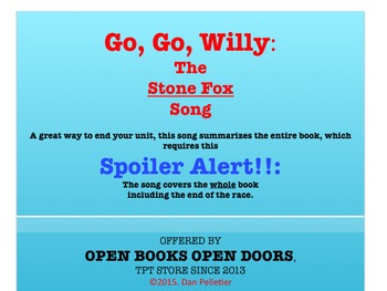 Stone Fox Song (Go Go Willy)