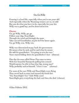 Stone Fox Song lyrics