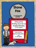 Stone Fox Special Education Interactive Writing and Guided Reading