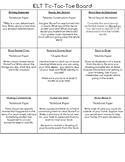 Stone Fox Student Choice Board
