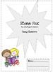 Stone Fox Study Guide