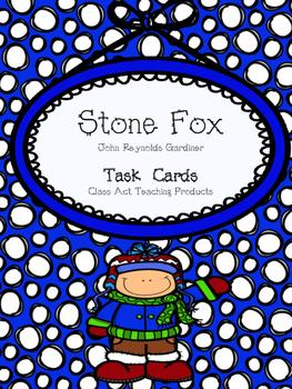 Stone Fox Task Cards