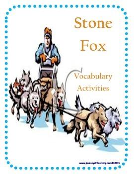 Stone Fox Vocabulary Activities