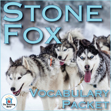 Stone Fox Vocabulary Packet