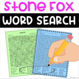 Stone Fox Word Search