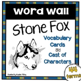 Stone Fox Word Wall