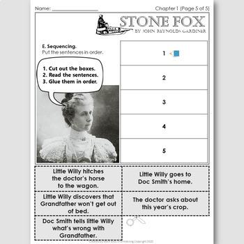 Stone Fox, an ELT Novel Study for Korean Students