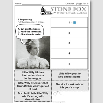 Stone Fox, an English Novel Study for French Speakers