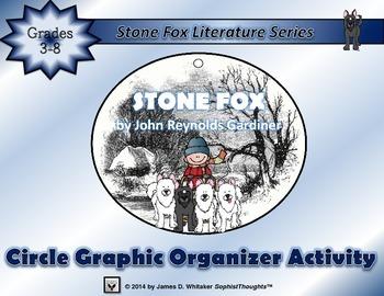 Stone Fox by John Reynolds Gardiner Circle Graphic Organizer Activity